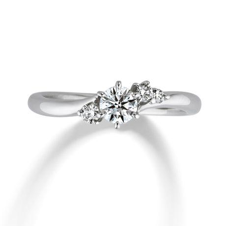 婚約指輪「A Piece of Love(ピース オブ ラブ)」の紹介です。素材はPT(プラチナ)で、価格は280,000円~です。躍動感のあるメレダイヤの一粒一粒は、二人の想いや希望の詰まった愛を表します。 銀座ダイヤモンドシライシ
