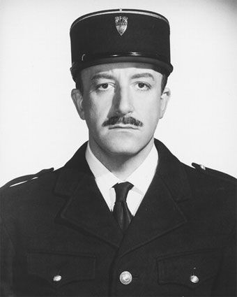 Peter Sellers: so so funny in the Pink Panther movies. The Pink Panther Strikes Again, 1976 is my favorite movie of Peter Sellers..