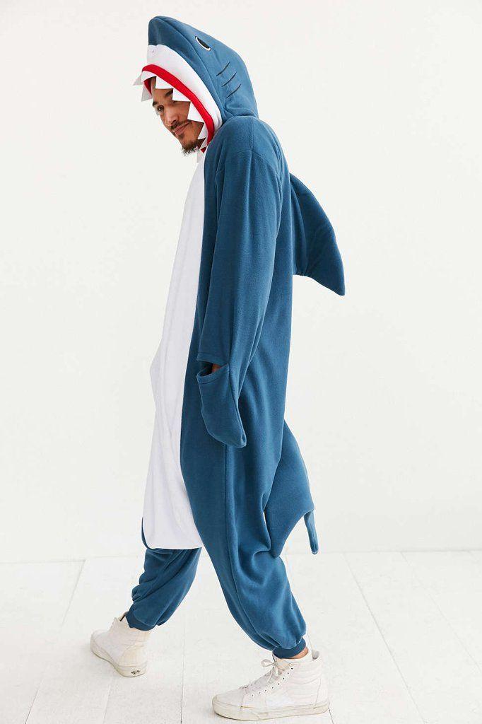 SAZAC Fleece Costumes Shark Shark