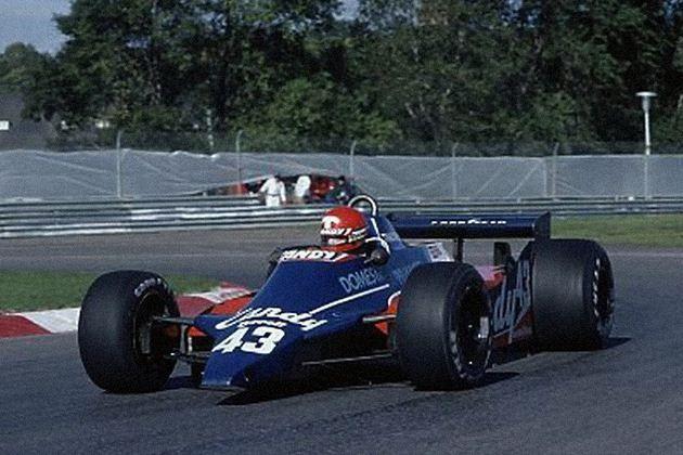 Tyrrell 010 Cosworth DFV - Candy Tyrrell Team - Canada Grand Prix 1980
