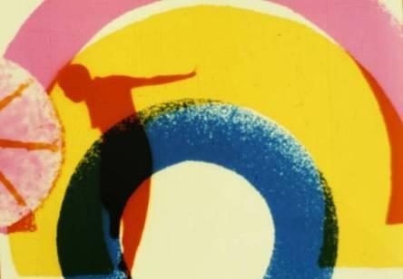 Len Lye - Experimental film 'Rainbow Dance' 1936