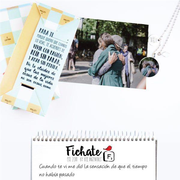 ¿Buscas el regalo perfecto para esa persona especial? Desde Fichate os hacemos esta propuesta: un colgante personalizado con la foto de ese momento que deseas que quede en el recuerdo… #RegalosFichate #Colgantes #Fichate #HandMade#HechosAMano #Regalos #Ideas
