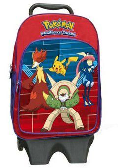 Τσάντα τρόλλευ δημοτικού Pokemon 43*17*33cm
