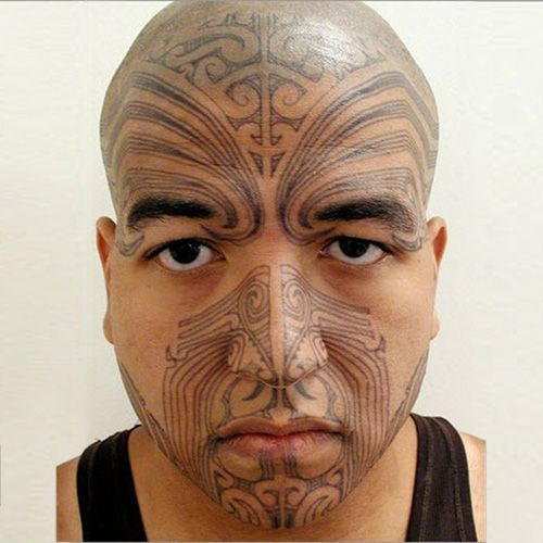 20 best tempest caliban images on pinterest maori for Face tattoo makeup