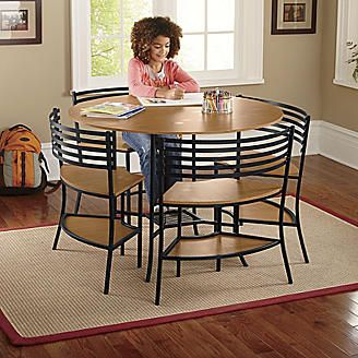 Smart Circle 5-Piece Table and Chairs Set from Seventh Avenue ®