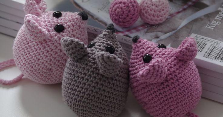 Halager: DIY - Hæklede mus