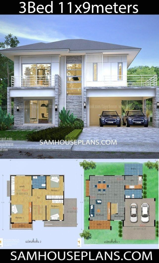 Model House Plan House Construction Plan Minimalist House Design