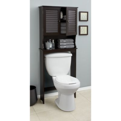 9 best images about over the toilet etagere on pinterest. Black Bedroom Furniture Sets. Home Design Ideas