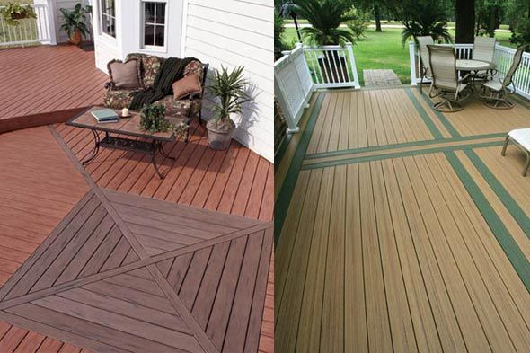 26 best images about deck and patio designs on pinterest for Evergrain decking cost