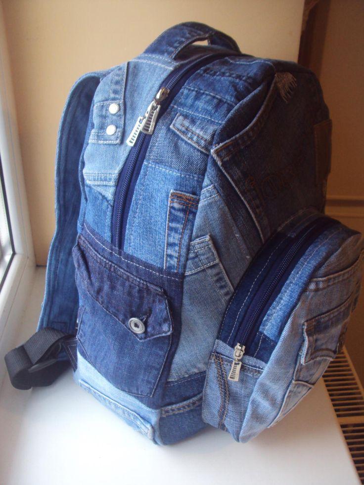 => джинсовый хэндмэйд