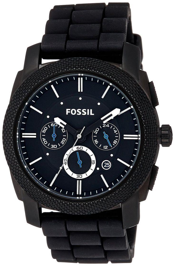 Fossil Fs4487 Maschine Chronograph Analog Black Dial Manner Herren Uhr Fossil Watches For Men Watches For Men Chronograph Watch Men