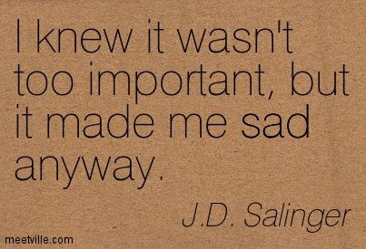 jd salinger quotes - Google Search
