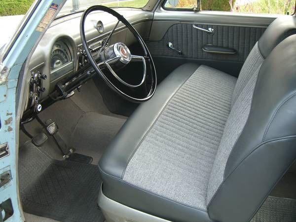 Fabric Car Seat Cleaner >> 53 Customline   Truck interior, Ford interior, Classic cars