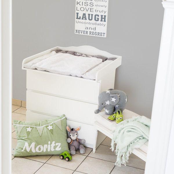 """Babyartikel - Wickelaufsatz """"Wolke 4"""" für IKEA Malm Kommode - ein Designerstück von PuckDaddy bei DaWanda"""
