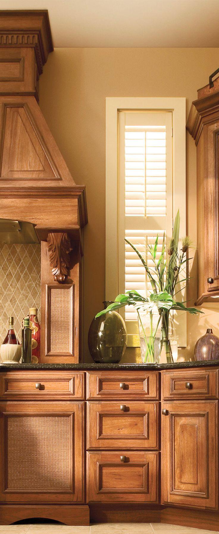 Tropical Kitchen Design With Dura Supreme Cabinetry Tropical Kitchen Decor Tropical Kitchen Design Tropical Kitchen
