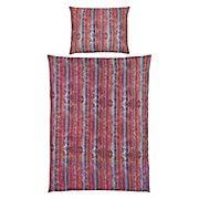 Bettwäsche Claire - Lila/Rot, MODERN, Textil - LUCA BESSONI
