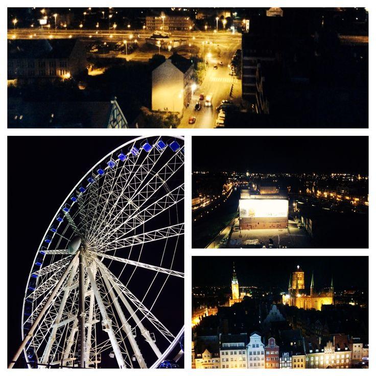 Gdańsk nocą #gdansk