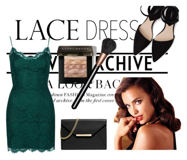 """Lace Dress"" by eiram-schultz on Polyvore featuring Topshop, MANGO, MICHAEL Michael Kors, Avon, Bobbi Brown Cosmetics and MAC Cosmetics"