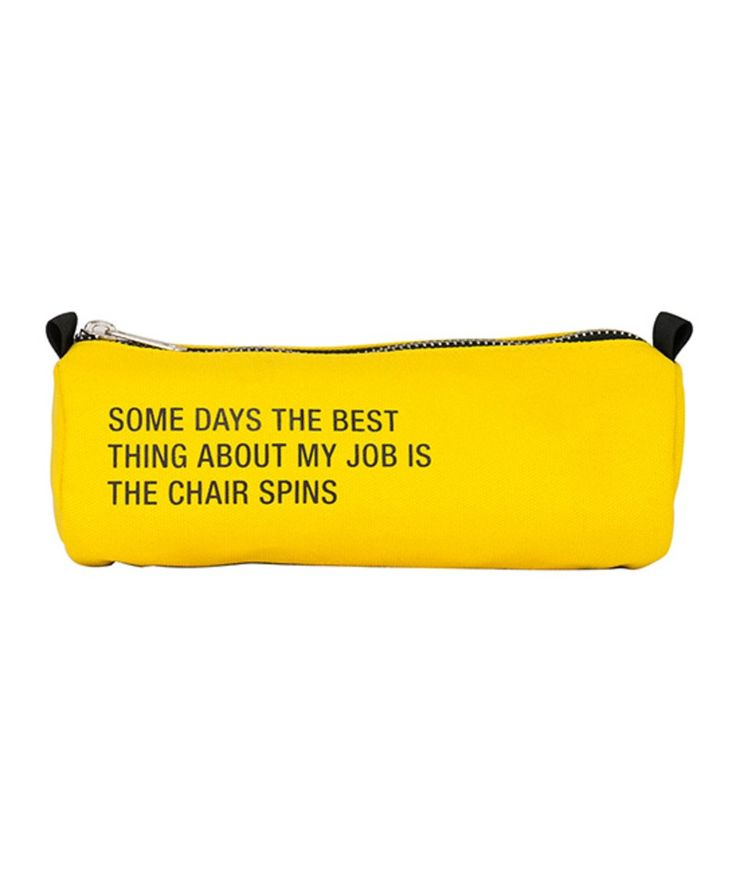 Take a look at this 'The Best Thing About My Job' Pencil Case today!
