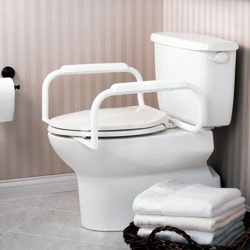 High, Dual Toilet Armrest System Gives You The Stability You Need To Feel  Safe And Confident Sitting Down ...