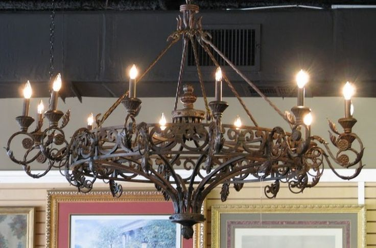 Wrought Iron Chandeliers and Lighting | Latest Home Lighting