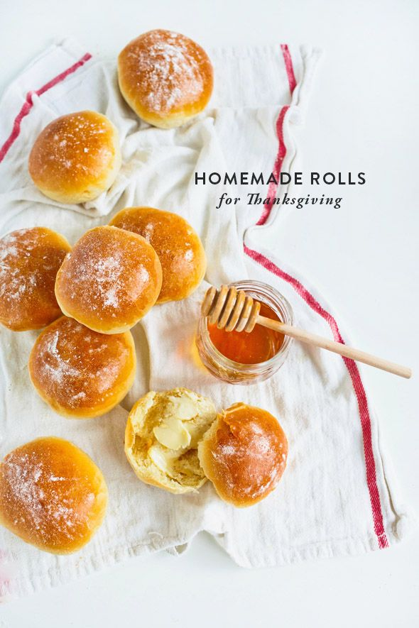 Thanksgiving homemade rolls