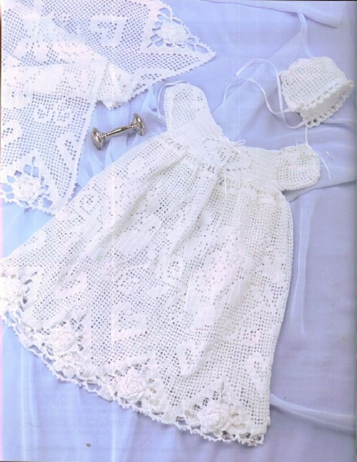 Crochet Amp Knit Annie S Attic Baby Christening Sets