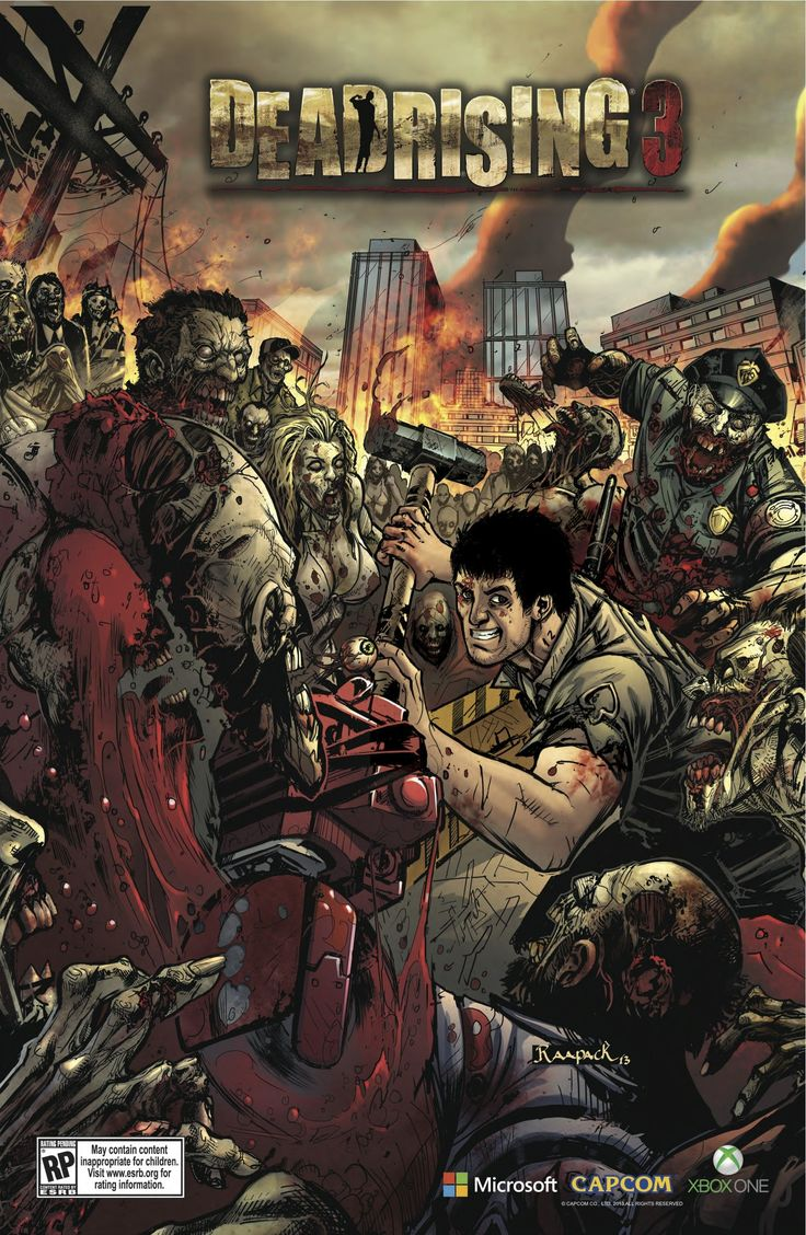 Dead Rising 3 - I can't imagine Nick being so happy to kill zombies...