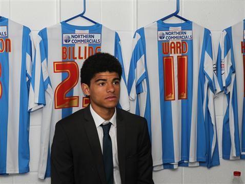 Official Website of the Terriers - Huddersfield Town AFC Under-18 midfielder Philip Billing .
