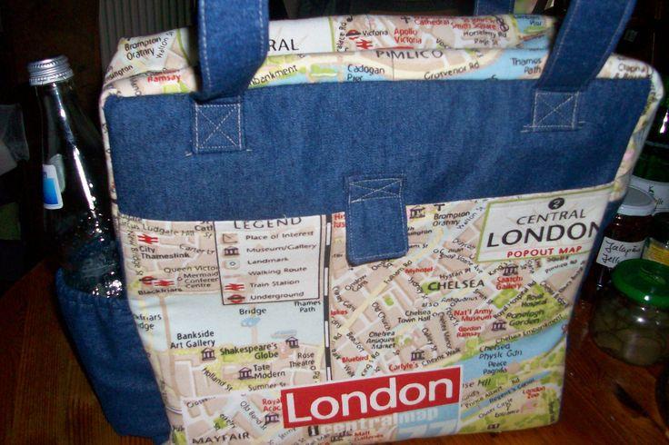 Tasche Lara Schultasche mit großen DinA4 Außentaschen und Flaschentasche