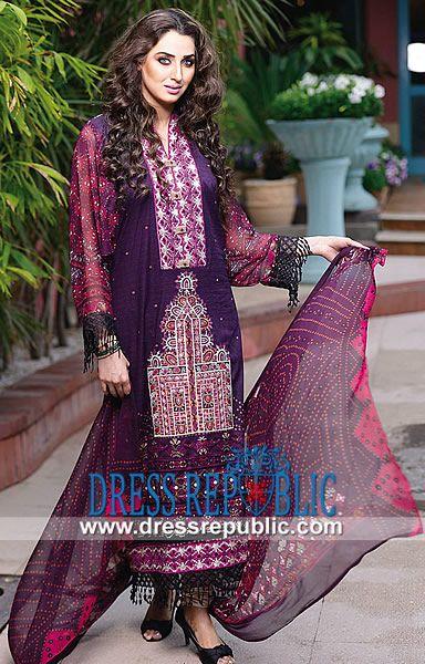 Ajwa Textile Summer Lawn Suit Designs 2014  Buy Online Ajwa Textile Summer Lawn Suit Designs 2014 (Volume 1) in Bakersfield, California, USA. Call Los Angeles (424) 248 5789. by www.dressrepublic.com