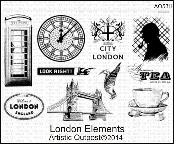 Stamps - Artistic Outpost London Elements