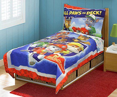 Paw Patrol Toddler Bed Set, Blue Paw Patrol http://www.amazon.com/dp/B00LUCNX4M/ref=cm_sw_r_pi_dp_RD9Zwb132XHXN