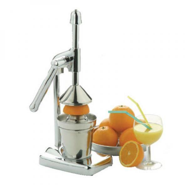 Comprar Exprimidor de Naranjas Palanca de Acero al mejor precio. Te presentamos los nuevos exprimidores de naranja palanca de acero. Exprimidor para frutas. Fácil de usar. Elegante diseño de aspecto muy brillante. Con sistema de presión por palanca. Extraiga todo el jugo de sus frutas tan solo bajando la palanca. Además está fabricado en resistente acero inoxidable y aluminio. Es muy fácil de limpiar. Consta de tres elementos: el exprimidor de naranja palanca de acero con el sistema de ...