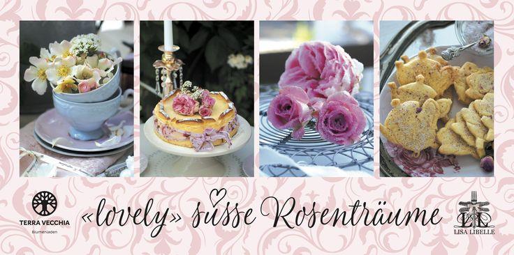 """Am Samstag 1. Juli 2017 bin ich im Blumenladen TERRA VECCHIA zu Gast.  """"lovely süsse Rosenträume"""" ♡   Ich würde mich riesig freuen viele Fans persönlich zu treffen :) und kann den Blumenladen für zauberhafte Blumen & auserwähltes Accessoires im Romantik-Look  sehr empfehlen! Ein TRAUM auf Erden. Auf bald, Ihre AnnaLISA alias LISA LIBELLE - make life lovely"""