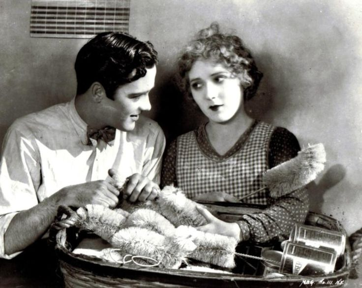 Buddy Rogers and Mary Pickford