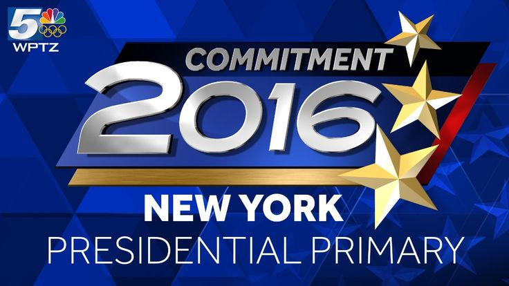 Voters are headed to the polls in New York to choose presidential nominees.