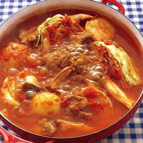 とりじゃがトマト鍋 | 井澤由美子さんの鍋ものの料理レシピ | プロの簡単料理レシピはレタスクラブニュース