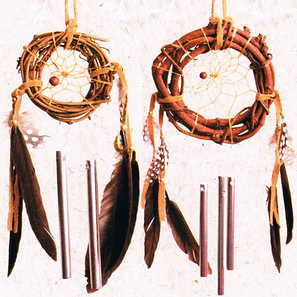 Spirit Chime Twig Dream Catcher [SC21] - $8.10