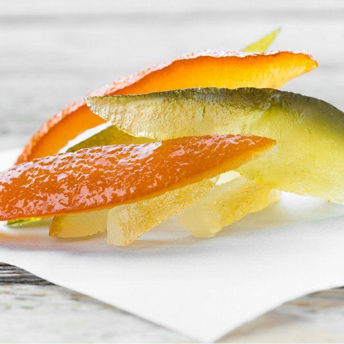 Ecorces de citron confites