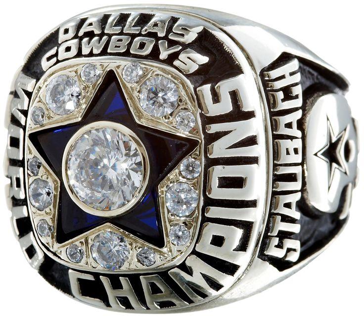 1971 Dallas Cowboys Super Bowl Championship Ring.... Football | Lot #82250 | Heritage Auctions