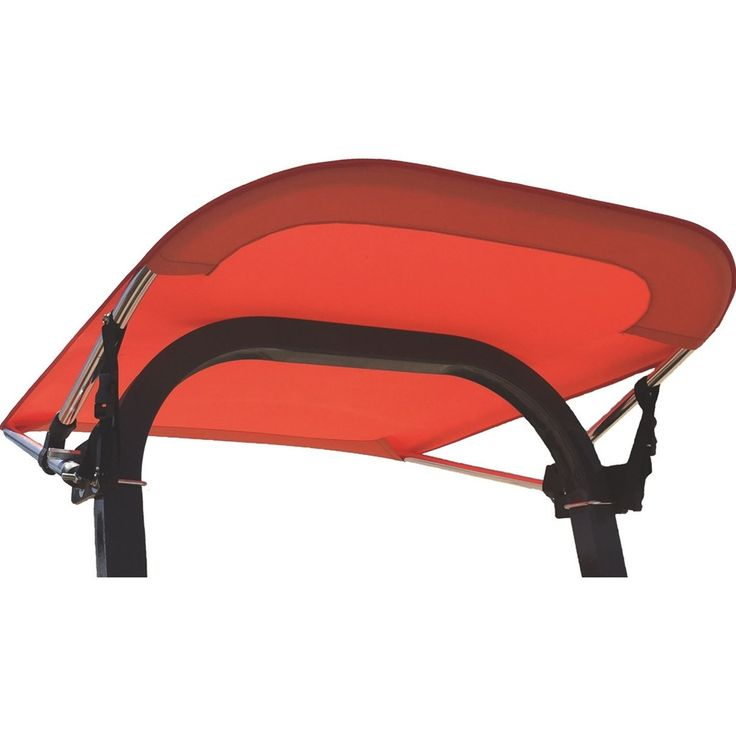 """Tractor and Mower 28"""" Fabric Bimini Sunshade Canopy - lightweight, and provides protection from the sun and heat for added comfort. #kmmanufacturing #tractor #mower #canopy #sunshade"""