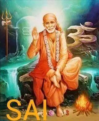 """Today's Sai baba's day wish you all have OM SAI RAM"""""""