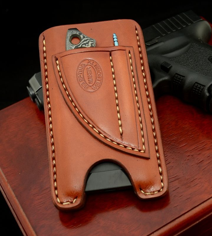 Cell Phone Case For The Terminally Paranoid Nice Bath Leather