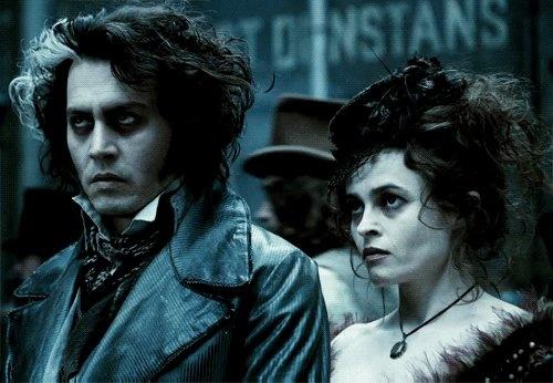 Johny Depp & Helena Bonham Carter.... Movie magic!