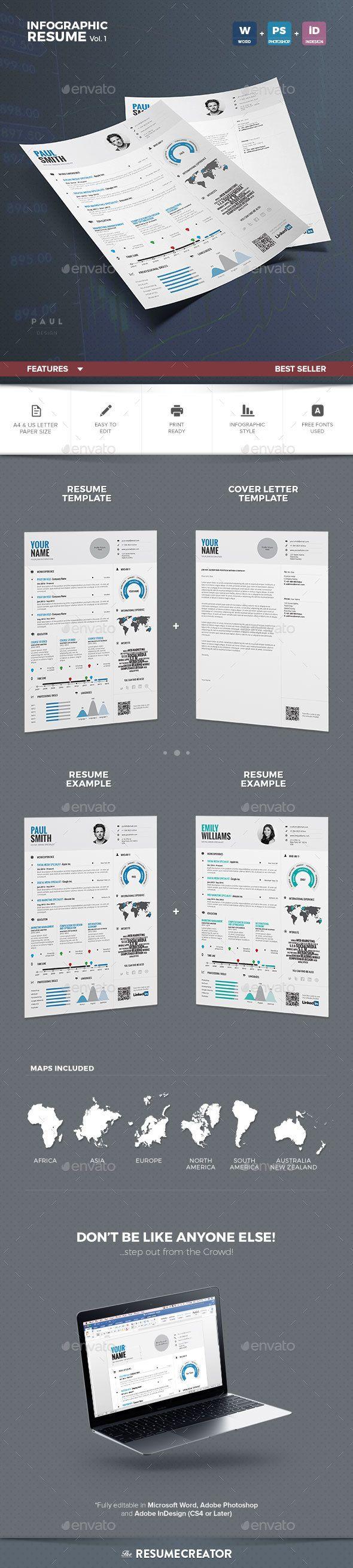 Infographic Resume Vol1 22 best Resume Templates