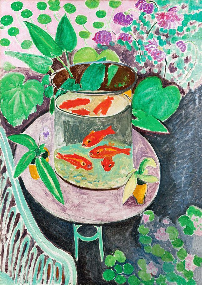 «Красные рыбы», Анри Матисс, 1911, из собрания ГМИИ им. А. С. Пушкина