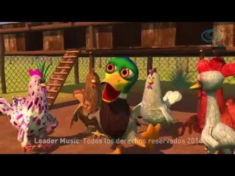 El Gallo y la Pata - Canciones de la Granja 2 - YouTube