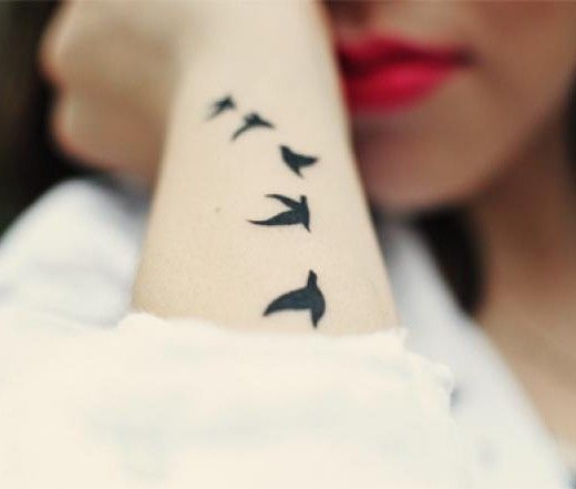 Bird Tattoos Ideas 2016
