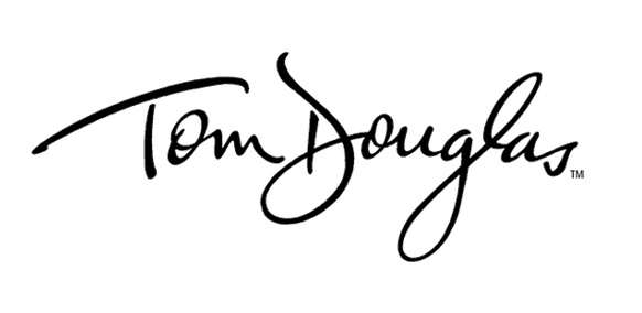 Logo designed for Tom Douglas, owner, chef and author, Tom Douglas Restaurants, Seattle, Washington.